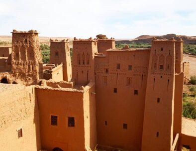 Ait Benhaddou with our 2 days desert tour from Marrakech to Zagora