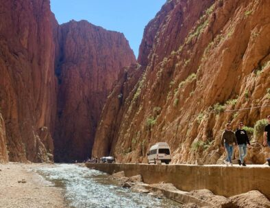Todgha gorges, one of the amazing sites to visit with our tour of 3 days starting from Marrakech to Fes