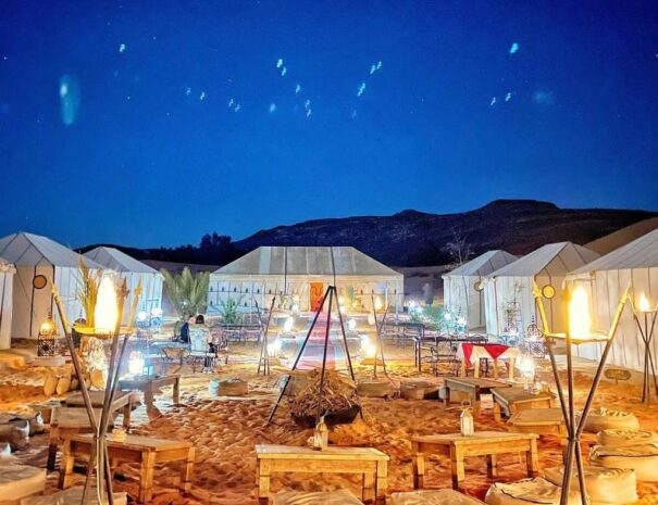 Sleep in the desert with Morocco Camel riding