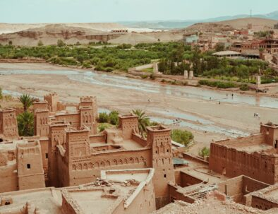 Ait benhaddou, an attraction you will hike with our Marrakech desert tour 3 days