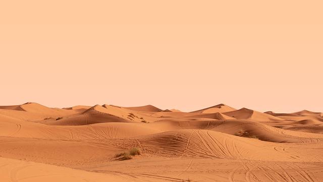 The Sahara desert of Merzouga, our destination with our Marrakech desert tour 3 days