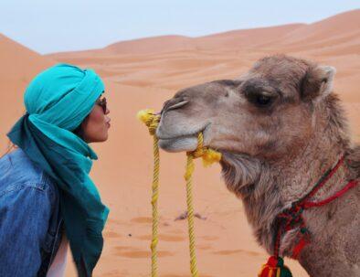 Solo traveler in Morocco