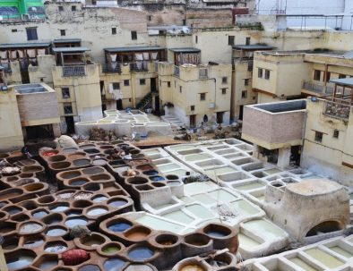 Chouara tanneries, 5 days tour itinerary in Morocco