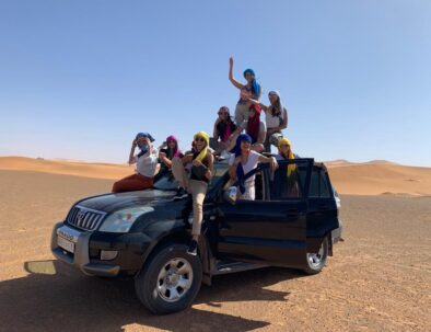 our transportation you will have with our 4 days desert tour form Marrakech and end in Fes