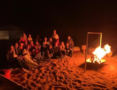 Desert camp with our 4 days desert tour from Marrakech