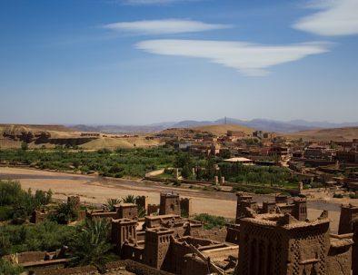 The kasbah ait ben haddou Morocco